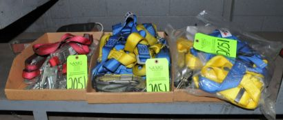 Lot-Safety Harnesses in (3) Boxes on Lower Shelf, (G-20), (Green Tag)