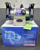 """Westward 6"""" x 1/3-HP Double End Bench Top Grinder, New in Box, (G-19), (Green Tag) New in Box&"""