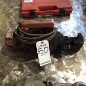 LOT: (1) Multiquip Midl. HBC-25N Rebar Cutter