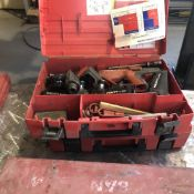 LOT: DXA41 Hilti Nailer, Hilti Under Cut Anchor Set