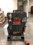 "2010 Edwards 55 Ton Ironwoker- 55 ton cap, 5 hp motor, 4 station, 10"" brake cap, 1.25"" stroke, 7."