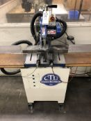"2013 CTD F225R Cut Off Saw- 12"" blade , 2 hp motor, 3,450 rpm, coolant, s/n- 2255"