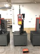 "2013- Haeger 618 Plus Insertion Machines- 12,000 lb max force, 18"" throat depth, 0-8"" stroke, 10"