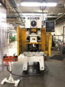 "2014 Sutherland Mark 50 Single Gap Frame Press- 50 ton cap, front side guarding, 9"" Sutherland"