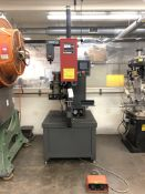 "2014 Haeger 824 Insertion machine- 8 ton max force, 24"" throat depth, 0-8"" stroke, 18 gallon oil"
