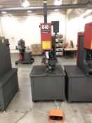 "2015- Haeger 618 Plus Insertion Machines- 12,000 lb max force, 18"" throat depth, 0-8"" stroke, 10"