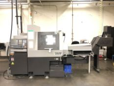 2017 Tsugami B0325-II CNC Swiss Screw Machine- 8,000 rpm spindle speed, 8,000 rpm sub spindle speed,