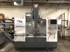 2011 Haas VF-2SS Vertical Machining Center- 12,000 rpm spindle speed, 30 hp motor, 40 taper, 24