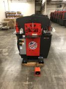 "2016 Edwards 55 Ton Ironwoker- 55 ton cap, 5 hp motor, 4 station, 10"" brake cap, 1.25"" stroke, 7."