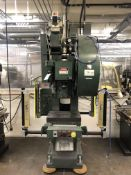 "Rouselle 3G OBI Punch Press- 25 ton cap, 3"" stroke, 2"" ram, 135 spm, 14""x20´bed, 10 ¼"" shut"