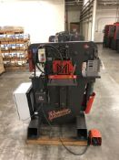 "2012 Edwards 55 Ton Ironwoker- 55 ton cap, 5 hp motor, 4 station, 10"" brake cap, 1.25"" stroke, 7.5"""