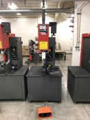 "2010 Haeger 618 Plus Insertion Machines- 12,000 lb max force, 18"" throat depth, 0-8"" stroke, 10"