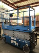 Genie GS-2632 Scissor Lift- electric, 500 lb cap, 26' reach, s/n-452-26-7068