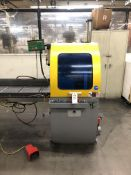 "2013 PMI 24D Upcut Saw- 24"" blade, 10 hp motor, 2,000 rpm blade speed, air over oil feed system,"