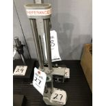 """(1) Mitutoyo 12"""" dial height gage"""