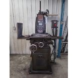 """BROWN & SHARPE AUTOMATIC FEED SURFACE GRINDER MODEL 2, S/N 19989, 6"""" X 18"""" PERMANENT MAGNETIC CHUCK,"""