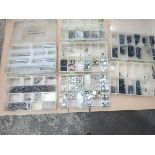LOT OF ASSORTED HELI COILS, CLIPS, ETC