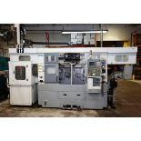 2006 DOOSAN DUAL SPINDLE 2 AXIS TURNING CENTER MODEL OL200H, S/N LTY1021, FANUC SERIES 181-TB CNC