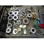 LOT OF ASSORTED COLLETS ADAPTERS & PARTS