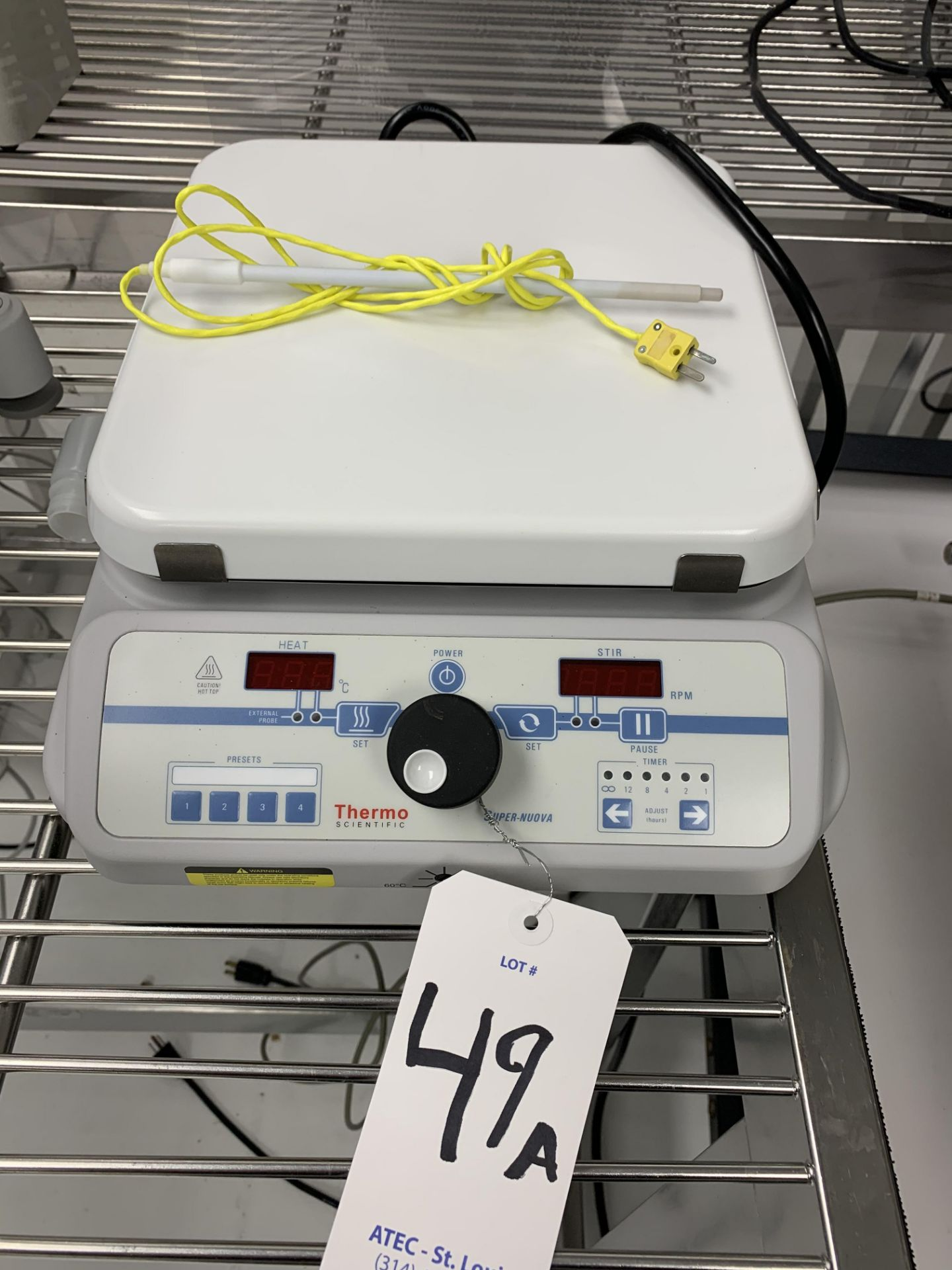 Lot 49A - Thermo Scientific SP133835 Hot Plate