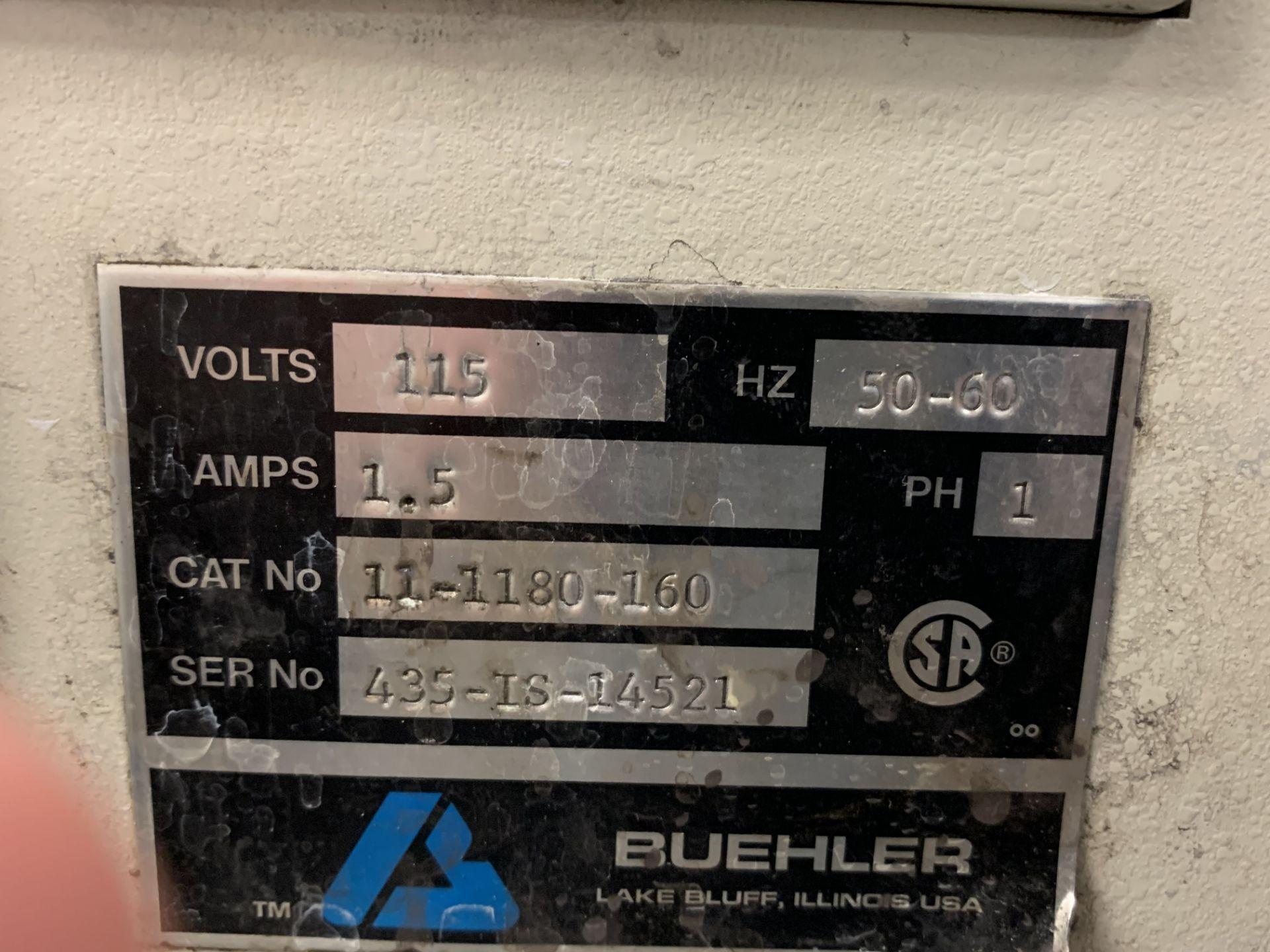 Lot 6 - Buehler Isomet Low Speed Saw