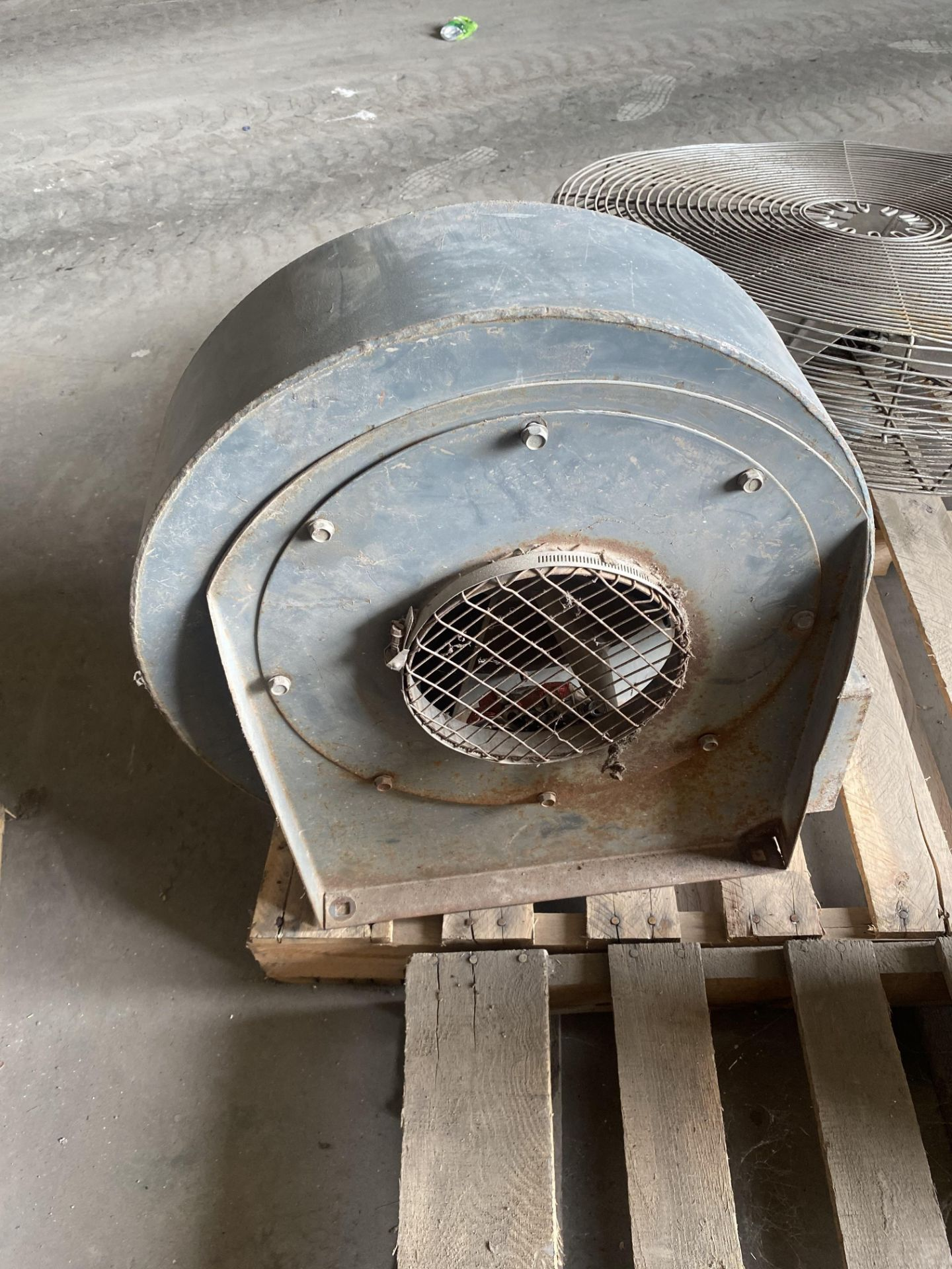 Lot 10J - Blower For CP Manufacturing Can Flattener