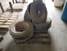 Set of (4) Bobcat Rims for Skid Steers