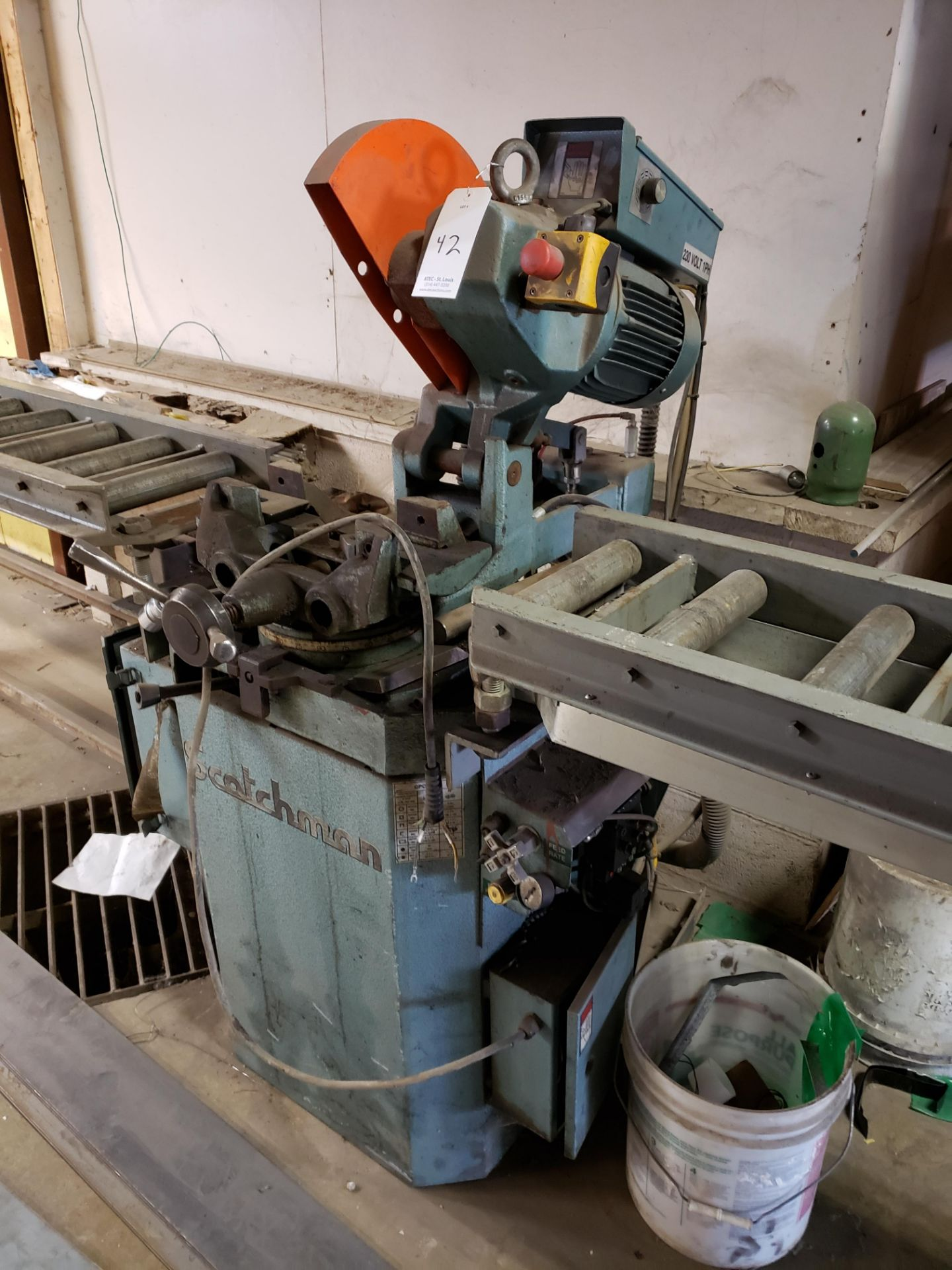 Scotchman Cold Saw - Image 2 of 6