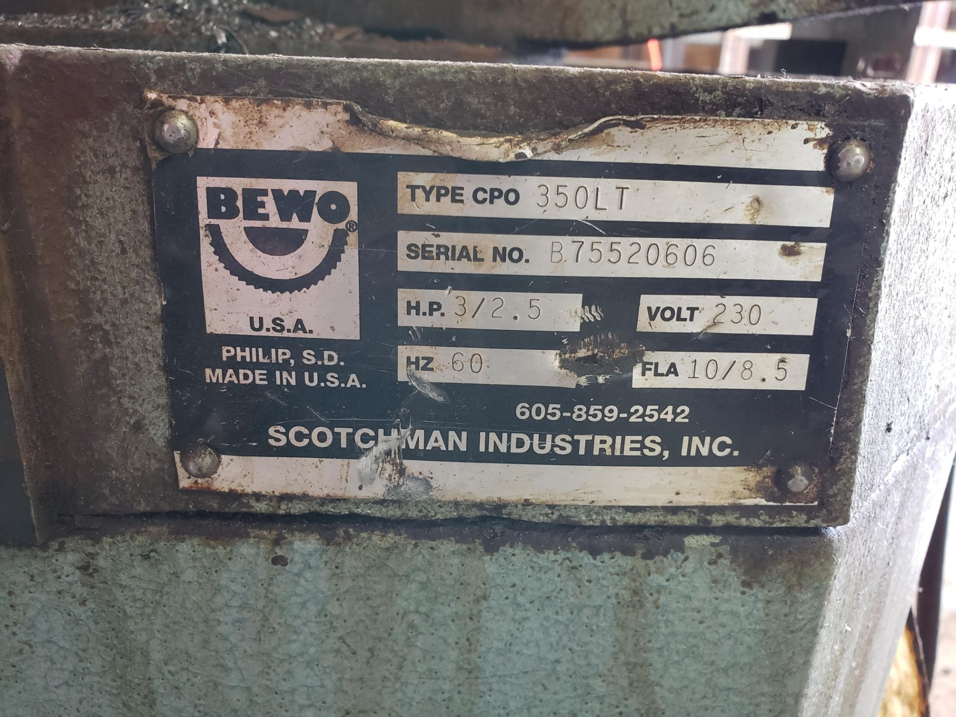 Scotchman Cold Saw - Image 4 of 4