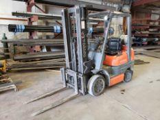 Toyota Model 42-6FGCU25 5,000-Lb Capacity Forklift