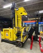 2003 ELECTRIC HYSTER V30XMU ELECTRIC MAN UP SWING REACH TURRET TRUCK