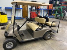 USED EZGO ELECTRIC 4-SEATER GOLF CART