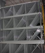 "NEW 30 PCS OF KEYSTONE UPRIGHT. SIZE 12'H X 42""D, 3""X 3"" GRAY"