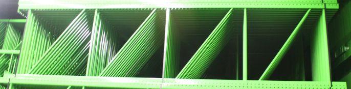 """NEW 60 PCS OF TEARDROP UPRIGHT. SIZE 16'H X 48""""D, 3""""X 3"""" GREEN"""