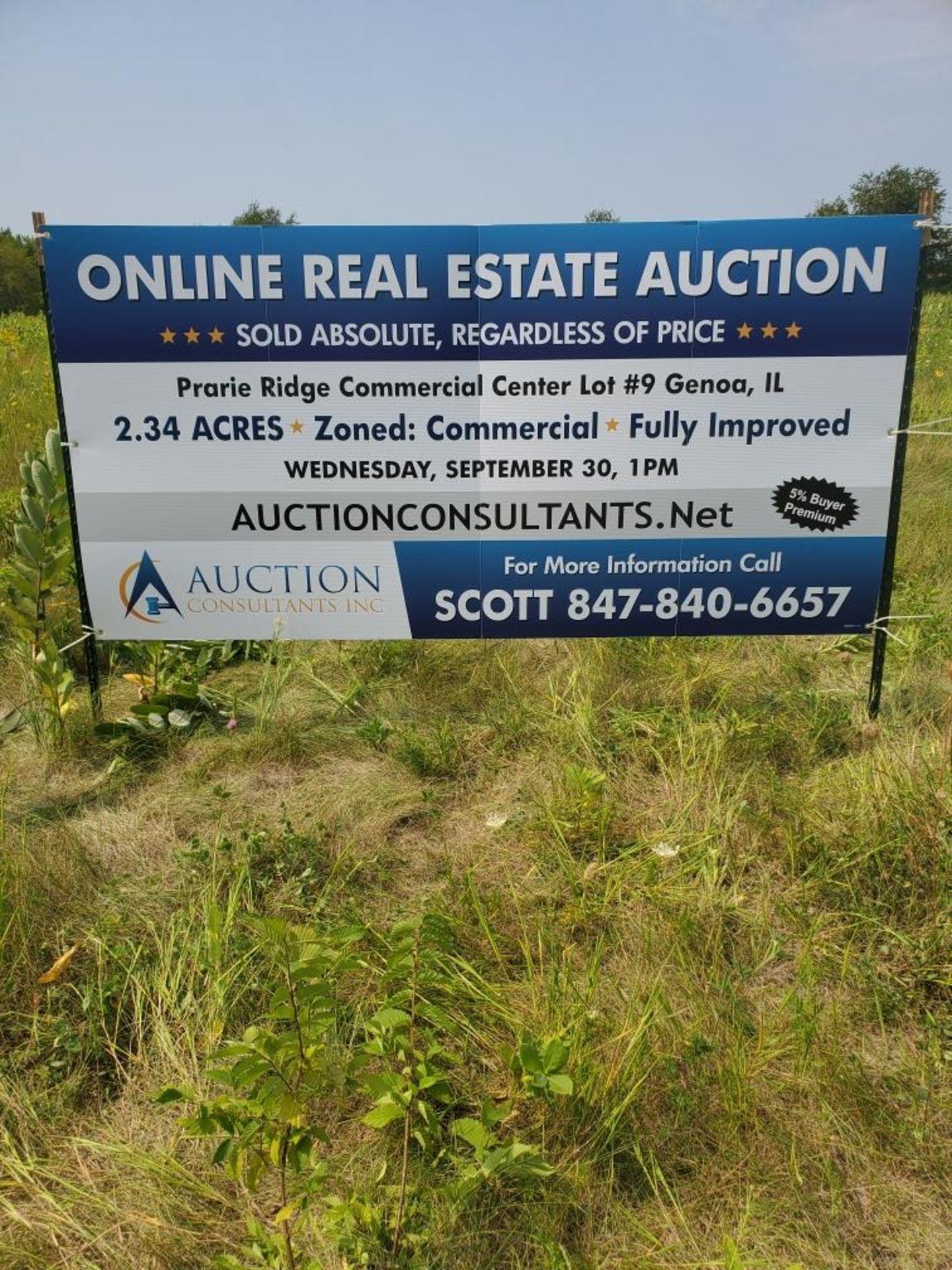 Lot 1 - 2.34 Acres, Prairie Ridge Commercial Center Lot 9, 401 S.Hadsall St. Genoa, IL