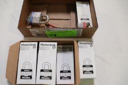 Commercial master locks in box