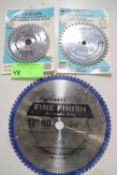 """Two 6-1/2"""" saw blades"""