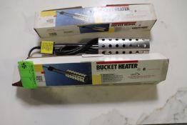 Two Lockndry compatible bucket heaters, model 742G, 1000-watt