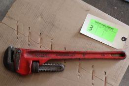 "Fuller 18"" pipe wrench"