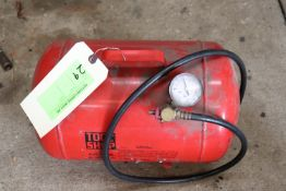 Toolshop brand 5-gallon portable air tank
