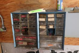 Parts bin with contents