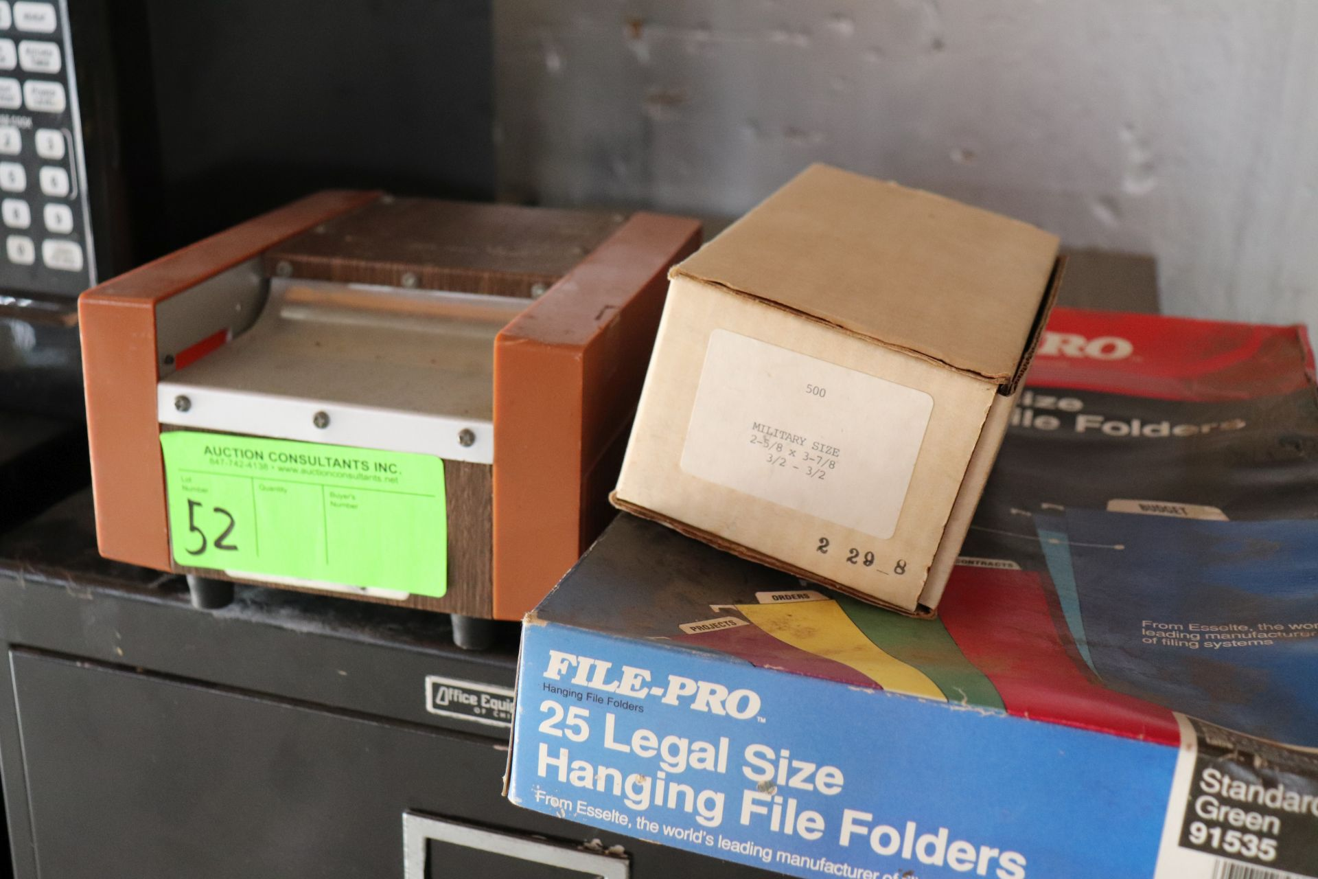 Identatronics business card laminator with accessories