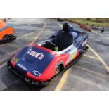 #48 F1000 go-kart with 8-year old motor