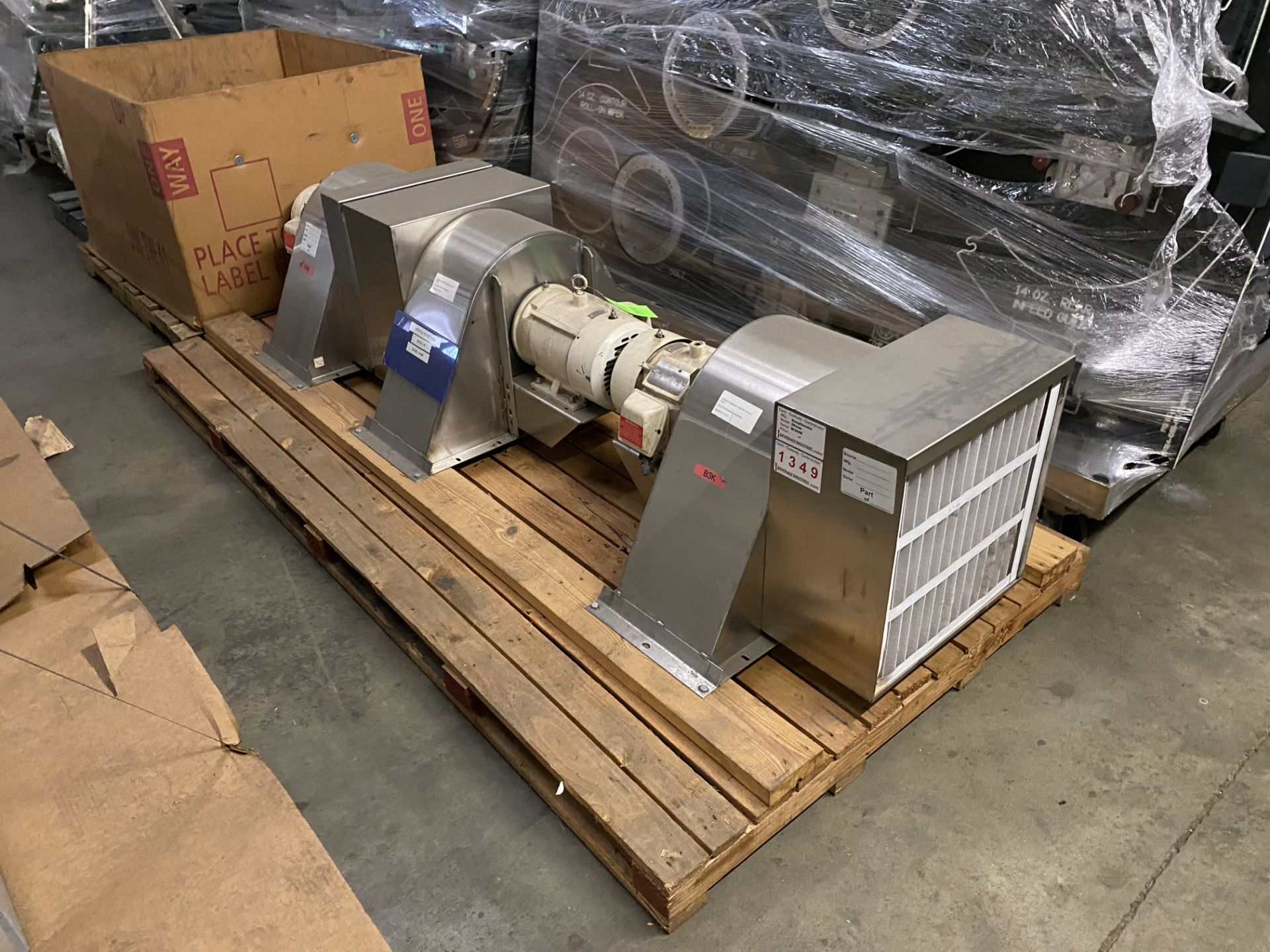 Lot 17 - Simplimatic 3HP Blower