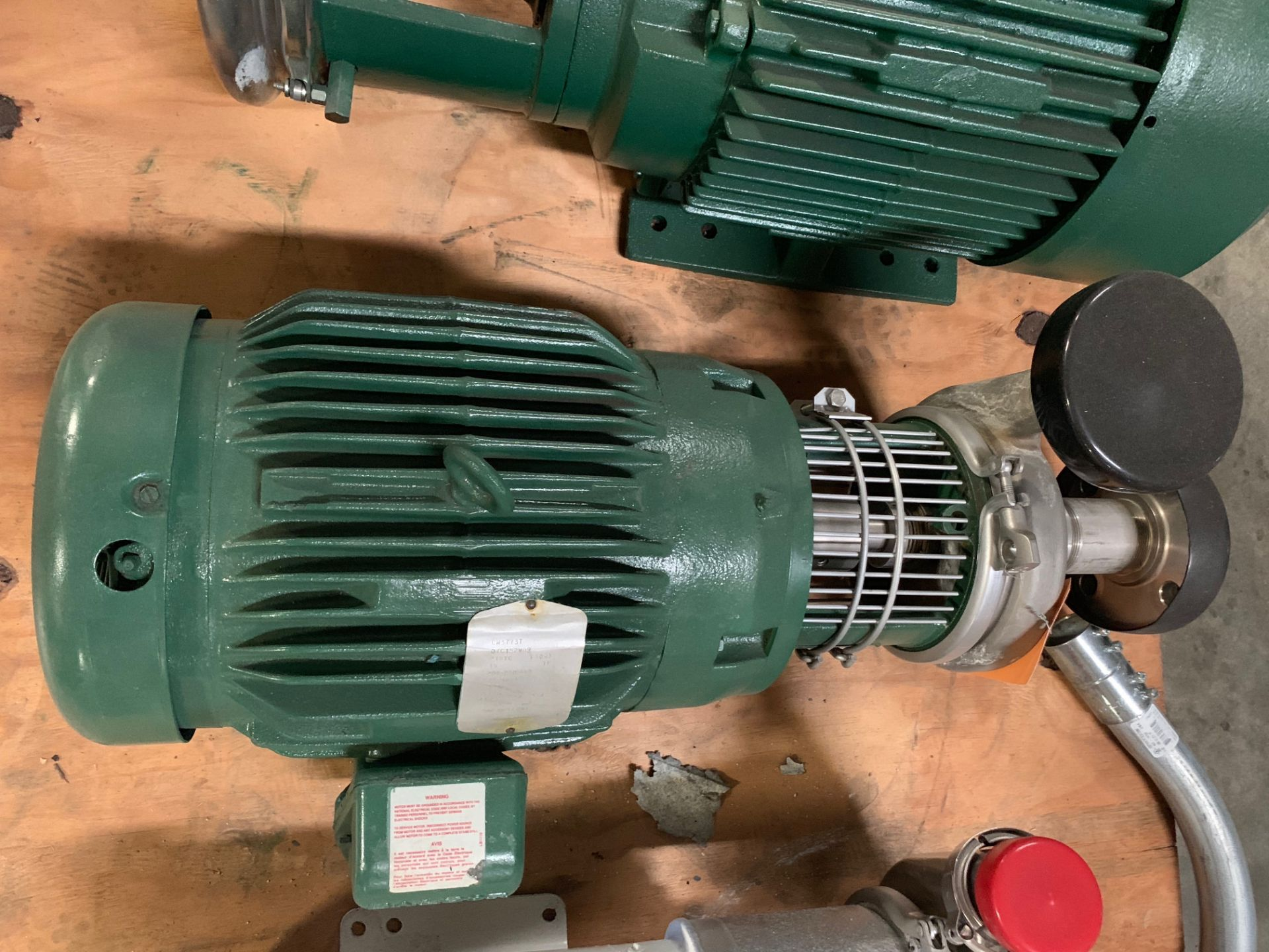 TRI CLOVER 15HP CENTRIFUGAL PUMP