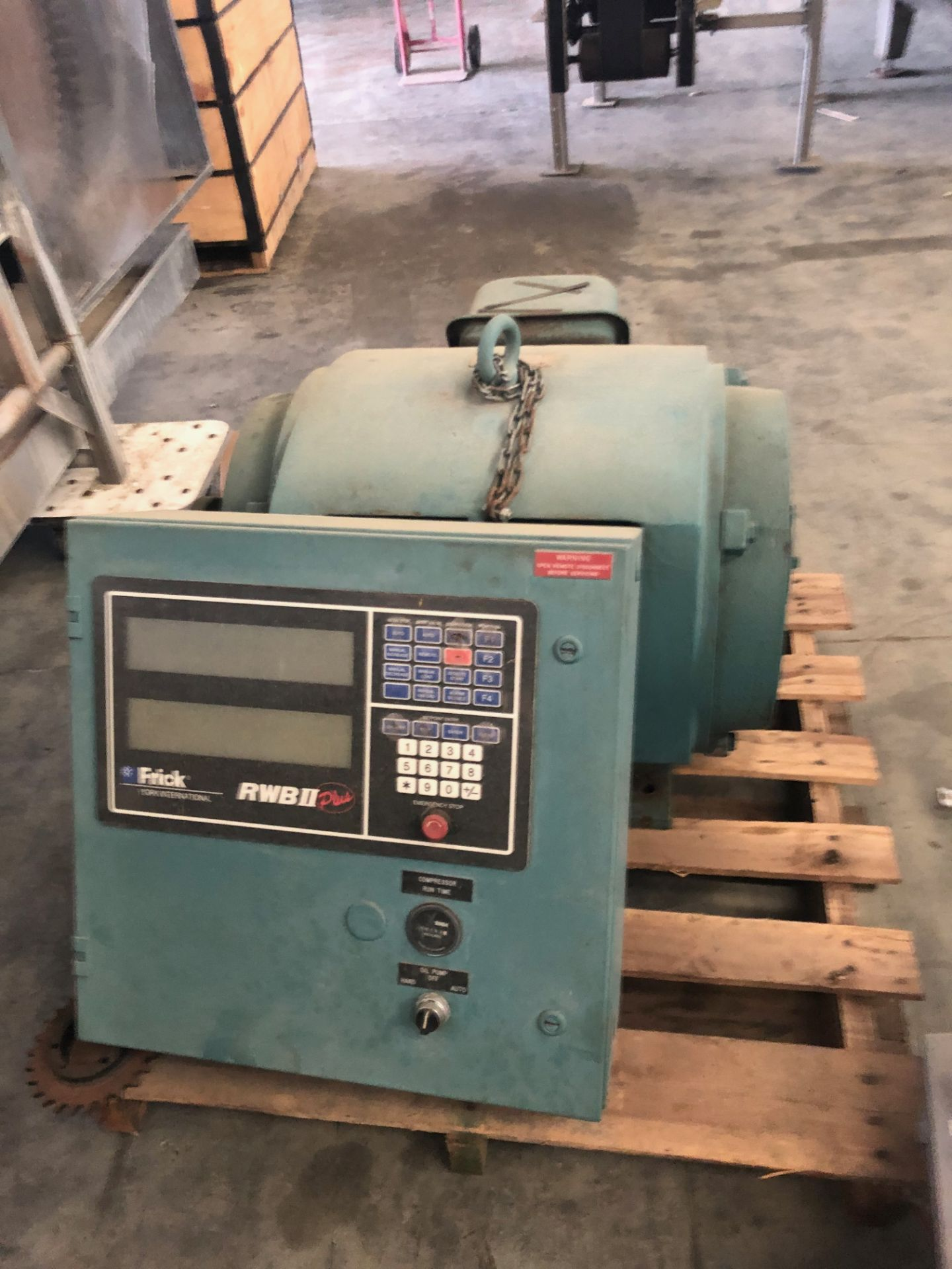 Frick 250HP Motor with Panel