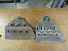 (2) Excavator Bucket Side Rails, SCC31MLH, Located in Winterset, IA