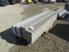 """(15) 8"""" x 9' Precise Concrete Forms, Textured Brick 8"""" Hole Pattern, Located in Winterset, IA"""