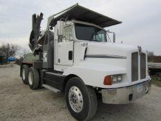 1989 Kenworth T400A Tree Moving Truck, VIN #1XKBD59X8KJ533984, Miles 500,188, Roadranger Fuller