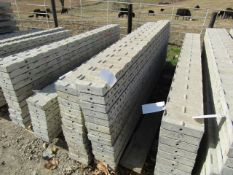 """(13) 8"""" x 8' Jumps Precise Concrete Forms, Textured Brick 8"""" Hole Pattern, Located in Winterset, IA"""